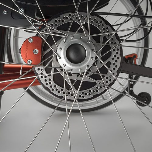 Disc brakes with quick release